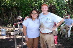 Fred R and Cathy from HFH, El Salvador agency